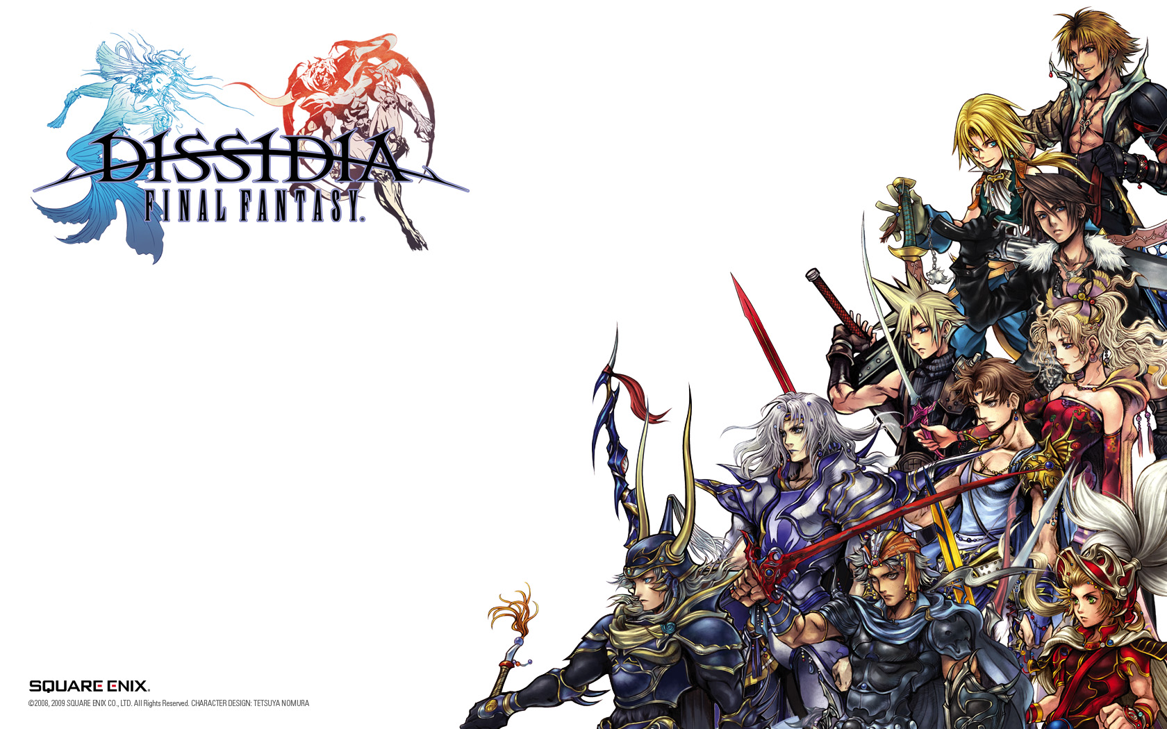 Game Dissidia Final Fantasy Akan Dirilis Untuk Playstation 4