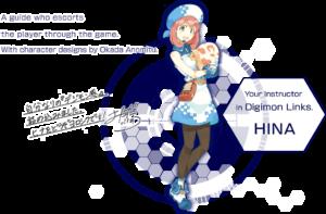 Navigator Pada Digimon Links Ilustrasi dibuat Oleh Okada Annmitu